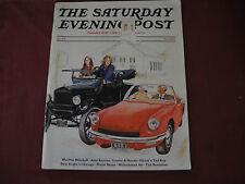 Lot of 6 Saturday Evening Post 1958 1967 1971 1972 2014 Asimov Ali Wayne Vietnam