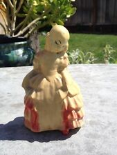 """Antique Carnival Chalkware Southern Belle """"Rose"""""""