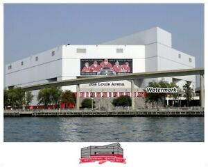 NHL Joe Louis Arena Detroit Red Wings Hockeytown Color 8 X 10 Photo Picture