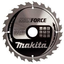 Makita MakForce 190 mm x 30 mm 24 T B-08355 taglio pulito Legno ha visto Lama Circolare