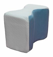 Memory Foam Cool Knee Leg Pillow Cooling Gel Pad Wedge Support For Sleeping NEW