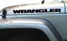 JEEP WRANGLER Vinyl Decal Sticker Emblem Logo Graphic x 2