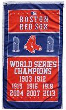 Free Ship To USA BOSTON RED SOX CHAMPIONS MLB BASEBALL FLAG BANNER 3x5 FEET LOGO