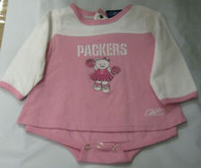 REEBOK PINK GREEN BAY PACKERS 1 PEICE 3/6 MONTHS NEW