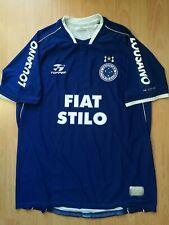 Cruzeiro #7 Home 2002 Football Jersey L Shirt Camiseta Trikot Brasil Rare