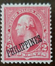PHILIPPINES STAMP AMERICAN OCCUPATION MINT HINGED ORIGINAL GUM.