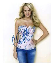 CARRIE UNDERWOOD AUTOGRAPHED SIGNED A4 PP POSTER PHOTO PRINT