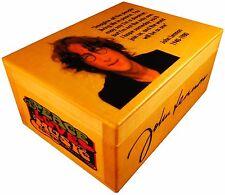 John Lennon The Beatles figure peace logo, music Box Autograph Sunglasses hippie