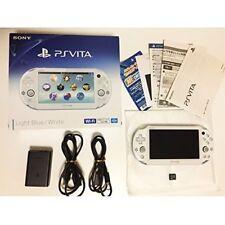Sony PS VITA Play station vita Console Wi-Fi Light Blue / White PCH-2000ZA14
