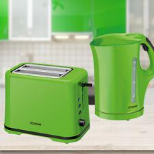 Mixeur pain Bin /& 3 bidons Lot de: Bouilloire en acier inoxydable vert