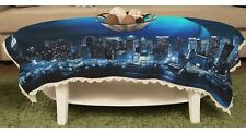 Planet New York City Rectangular Lace Table Cloth Banqueting Cover y43 y0338