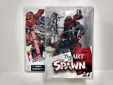 The Art Of Spawn Issue 131 Cover Art Action Figure McFarlane Toys 2005 t1592