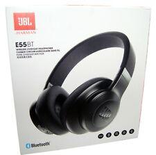 JBL E55BT Headphones Wireless Bluetooth Over Ear Headset Black - NEW