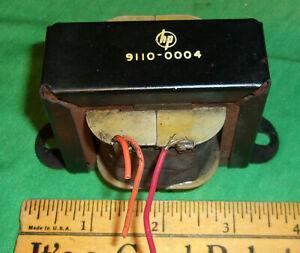 Hewlett Packard Filter Choke 9110-0004 (225 Ohms) Clean! 3 1/4 Inch Mounting