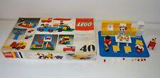 Ancien Jouet construction LEGO vintage boite N° 40 + N°263