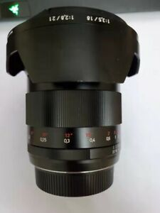 ZEISS Distagon T 21mm f/2.8 MF ZE Lens For Canon EF Mount
