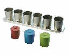 VOTIVE Metal Candle Mold Strip (6-cavity)