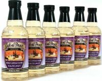 (6) Cafe Al Fresco Hazelnut Gourmet Syrup Coffee Espresso Soft Drinks 12.7 Fl Oz