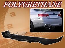 FOR 07-10 BMW E92 TYPE-A 328 335 POLY URETHANE PU REAR BUMPER LIP BODY KIT