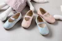 Girls Ballet Flats Ballerina Mary Jane Shoes (Toddler/Little Kid)