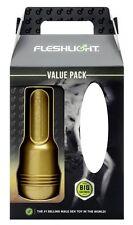 Original-Fleshlight Stamina Value Pack Masturbator Flesh Light vagina training