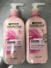 Garnier SkinActive Milk Face Wash with Rose Water, 6.7 Fl Oz