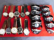 job lot 20 mens/ ladies/girls/boys watches new/used all in good working order