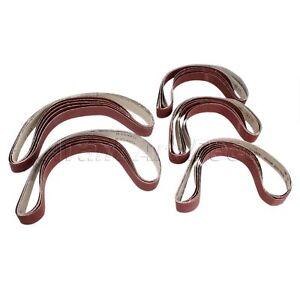 760mm*25mm Sander Paper Sanding Abrasive Belts 120/240/320/400/600# Grit 5pcs