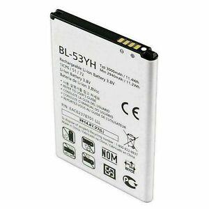 New OEM LG Bl-53YH Battery LG G3 VS985 F400 D850 D855 Original Genuine 3000mah