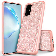 For Samsung Galaxy S20 S20+ S20 Ultra 5G Case Bling Hybrid Soft TPU Phone Cover