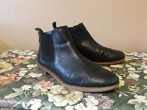 Womens Clarks Leather Taylor  Chelsea Ankle Boots Black Size UK 5 D EU 38