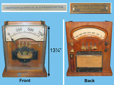 scientific instrument watt volt meter electrical James Biddle Hartmann Braun