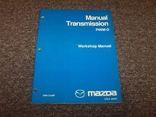 2005 Mazda P66M-D Manual Transmission Workshop Shop Service Repair Manual