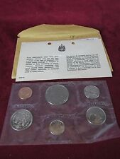1969 UNCIRCULATED PROOFLIKE CANADIAN COIN SET
