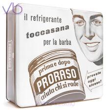 PRORASO (Toccasana, Vintage, Gift, Metal, Box, White, Shaving Set, Cream, Balm)