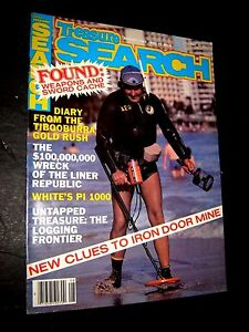 August 1983 Treasure Search Magazine Gold Silver Metal Detectors Diving Coins