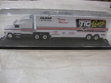 Nascar Kenny Wallace Signed LE TIC Financial Systems Hauler 187 Scale Diecast RC