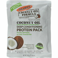 5 Packs Palmers Coconut Oil Formula Deep Conditioning Protein Pack 2.1Oz Each