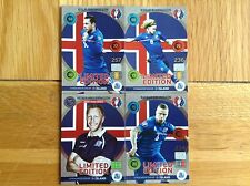 Panini Adrenalyn XL Euro2016 Iceland Limited Edition Classic cards