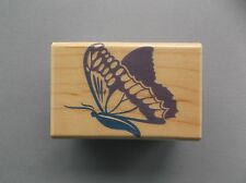 HERO ARTS RUBBER STAMPS ULYSSES BUTTERFLY NEW wood STAMP last one