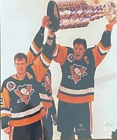 MARIO LEMIEUX  Autographed Signed 8x10 Photo Pittsburgh Penguins Stanley Cup CSI