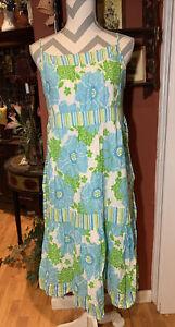Bonnie Jean Girls 18.5 Tiered Floral Strap Swiss Dor Sun Dress
