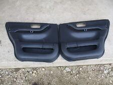 97-01 Honda CR-V CRV DOOR PANELS REAR SET PAIR LH RH BLACK 98 99 00 01 97 PARTS
