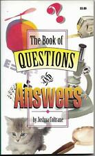 Book of Questions and Answers by Joshua Coltrane (1994)
