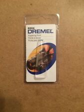 """Lot Of 10 New Authentic Dremel Carbide Point Tip Engraving Bit 9924 1/8"""" Shank"""