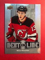 2017-18 Upper Deck Overtime Next In Line RC #NL-1 Nico Hischier Rookie Insert