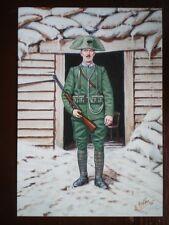 POSTCARD THE CARABINIERI OF ITALY - CARABINIER OF FOOT WW1 1916