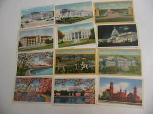 100 Older Washington DC Postcard Lot 2