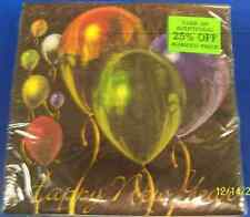 Balloon Celebration New Year's Eve Black Balloons Party Paper Beverage Napkins