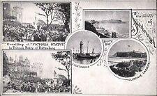 Scarborough Souvenir by Hartmann. Unveiling of Victoria Statue, Lighthouse &c.